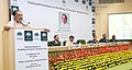 """Radha Mohan Singh addressing the concluding session of the National Seminar on """"Doubling of Farmers' Income by 2022'', organised by the NABARD, on its 35th Foundation Day, in New Delhi.jpg"""