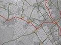 Radverkehrsnetz Kreis Düren, Derichsweiler, Tafel am Knoten 45 - Derichsweiler und Düren, Agathastr.91 - panoramio.jpg