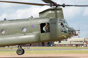 Boeing Chinook (UK variants) - RAF Chinook HC Mk2 in 2009