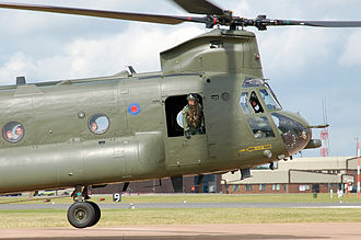 Boeing Chinook (UK variants) - RAF Chinook HC Mk2 in 2009