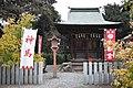 Raiden-jinja (Itakura) inside hachimanhu.jpg