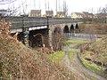 Railway Bridge, Woodhouse Lane, Rastrick - geograph.org.uk - 348207.jpg