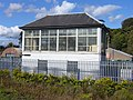 Railway Signal Box, Rosyth Dockyard - geograph.org.uk - 1516306.jpg