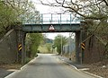 Railway bridge over Kiln Road - geograph.org.uk - 775673.jpg