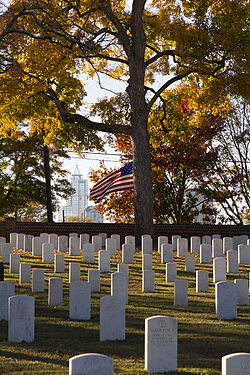 Raleigh National Cemetery in Fall.jpg