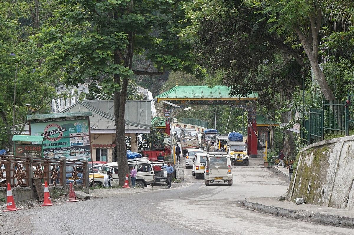 Carte Inde Sikkim.Rangpo Wikipedia
