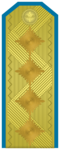 Rank insignia of Генерал of the Bulgarian Air forces.png