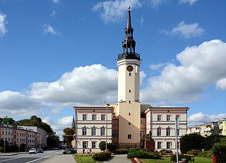 Strzelce Opolskie Place in Opole Voivodeship, Poland