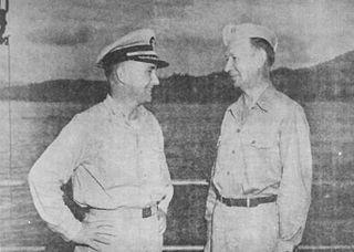 Raymond D. Tarbuck American WWII rear admiral