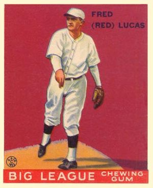 Red Lucas - Image: Red Lucas Goudeycard