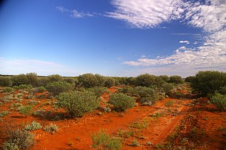 Ernest Titterton - Former British nuclear test site at Maralinga, South Australia