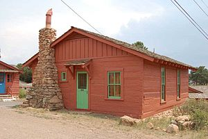 Bright Angel Lodge - Red Horse Cabin, at Bright Angel Lodge.