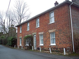 Redlynch, Wiltshire - Image: Red House, Morgan's Vale Road, Morgan's Vale geograph.org.uk 312653