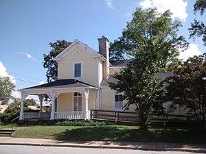Reese House - Reese House, September 2014