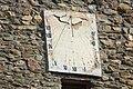 Rellotge de sol, església del Pla de sant Tirs, Ribera d'Urgellet, Alt Urgell. Lleida.jpg