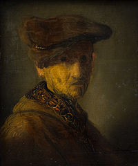 Man with a Hat. (Portrait of Rembrandt's Father)