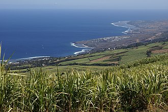 Saint-Leu, Réunion - Image: Reunion Saint Leu shore General View Northwards