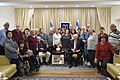 Reuven Rivlin hosts the veterans of Kibbutz Kfar Aza on the occasion of the 60th anniversary of the settlement, October 2017 (6046).jpg