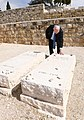Reuven Rivlin visiting the grave of Menachem Begin, February 2018 (8305).jpg