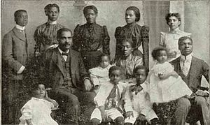 R. H. Boyd - Rev. Dr. R. H. Boyd and family
