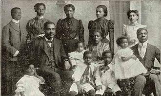 R. H. Boyd - Rev. Dr. R. H. Boyd and family