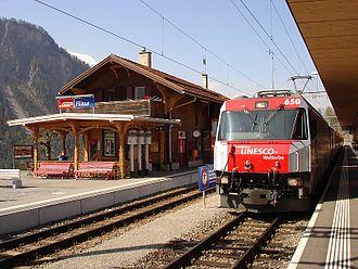 Filisur - Filisur railway station
