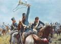 Richard Knötel - Der tolle Platen und sein Trompeter bei Möckern (5. April 1813).png