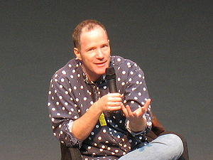 Rick Moody - Rick Moody speaking at the International Forum on the Novel in Lyon, France - May 2009.