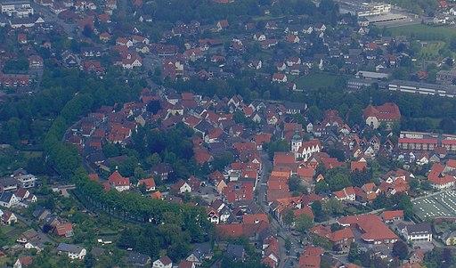 Rietberg town centre