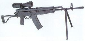 FB Beryl - The rifle cal. 5.56 wz. 96 Beryl.