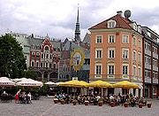 Doma laukums (main church's square) in Riga