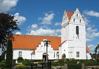 Ringe, Denmark - Ringe Church.