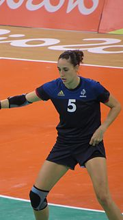 Camille Ayglon French handball player