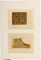 Ritning på tak i grevens rum och salongen, Hallwylska palatset - Hallwylska museet - 101133.tif