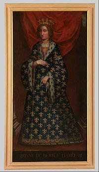 Ritratto di Bona di Berry moglie di Amedeo VII - Google Art Project.jpg