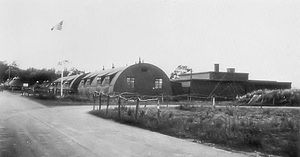 RAF Rivenhall - Rivenhall airfield headquarters site, 1944.