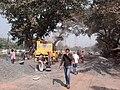 Road Repairing Work - Padmapukur Water Treatment Plant Road - Howrah 2012-02-05 00990.jpg