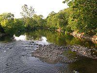 Roanoke River in Wasena, Roanoke, Virginia.jpg