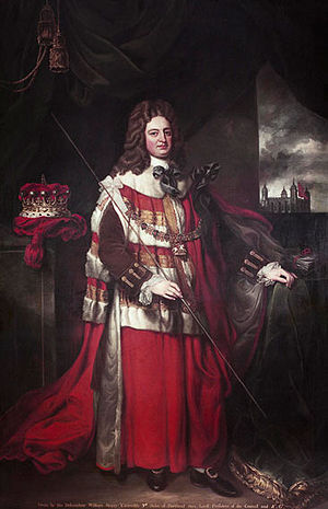Robert Harley, 1st Earl of Oxford and Earl Mortimer - Image: Robert Harley In Colour