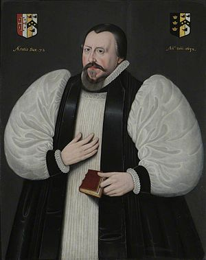 Bishop of Bristol - Image: Robert Wright, Warden of Wadham