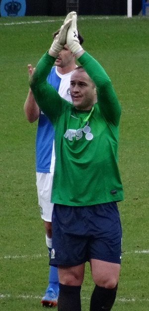 Paul Robinson (footballer, born 1979) - Robinson playing for Blackburn Rovers in 2014