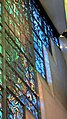 """Robinson College Chapel choir Piper stained glass window, """"Light of the World"""" (4766925667).jpg"""