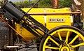 Rocket (locomotive) close up of the boiler lagging.jpg