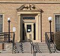 Rocky Ford, Colorado post office E entrance.JPG