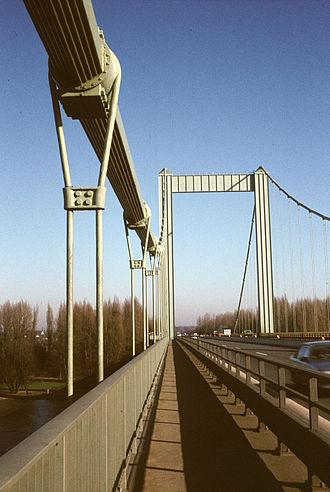 Paul Bonatz - Image: Rodenkirchener Brücke 1985