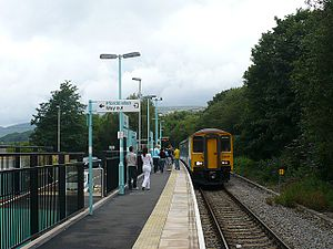 Ebbw Valley Railway - Rogerstone railway station