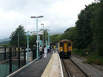 Ebbw Valley Railway - Rogerstone railway station