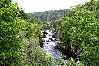 Black Water (Conon) - Rogie Falls