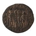 Romerskt kopparmynt, 333-335 - Skoklosters slott - 100179.tif