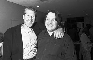 Ron Perlman and Guillermo del Toro